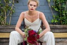 House of Ollichon Bridal Wear - Third Collection / House of Ollichon's stunning third collection features everything from wide legged bridal palazzo pants (with pockets!) to a silk chiffon cape; a perfect and striking alternative to the traditional veil. Discover the complete collection (including a gorgeous new bridal jumpsuit, of course) at http://houseofollichon.co.uk/shop/ #bridaljumpsuit #bridalseparates #bridalwear