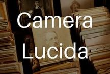 """Camera Lucida / All the images that are either reproduced or discussed in the text, with relevant excerpts. """"What the Photograph reproduces to infinity has occurred only once: the Photograph mechanically repeats what could never be repeated existentially."""" --R.B."""