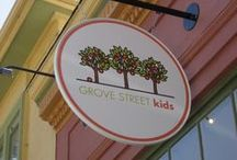 "In the beginning... / Our shop was founded in July 2007 on the originally named ""Grove Street"" now better known as MLK Jr. Way. / by Grove Street Kids"