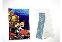 """♥ Caro y David ♥ / Productos con """"Caro y David"""" para que colecciones. / by tarjetaszea.com"""