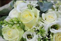 White/cream/ivory wedding flowers