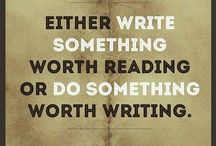 Writing Tips & Quotes / Writing tips & quotes I enjoy