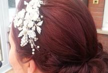 Wedding hairups vintage style / All hair done by Monica @themadeup team