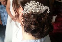 Hair for weddings we've done / All hair by Monica @ The madeup team
