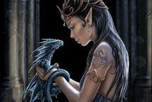 DragonSwain Short / Inspiration for short turned novella