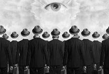 秘密結社 / 人間が思いつくすべてがこの世にある。秘密結社だって。ほら、あなたの後ろに聞き耳を立てる人がいる。