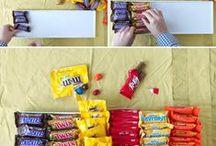 ideeën voor een film avond / Vul een bak met chocolade en je bent klaar! Zo simpel is het :)