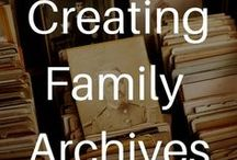Creating Family Archives / Creating Family Archives: How to Preserve Your Papers and Photographs simplifies the principles and practices of archivists and curators so that anyone with a passion for their history can apply these techniques to their family treasures, Learn more: amazon.com/Creating-Family-Archives-Preserve-Photographs