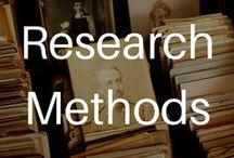 Research Methods / Tools for teaching research methods at the college and graduate levels.