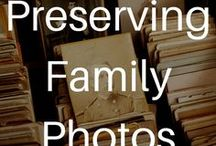 Preserving Family Photos / Want to learn more about organizing photos? My book, Creating Family Archives: How to Preserve your Papers and Photographs, offers a step-by-step guide to protecting your family photos.    http://www.margotnote.com/creatingfamilyarchives