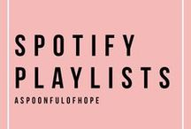 >> SPOTIFY PLAYLISTS << / All of my Spotify playlists at the touch of your fingertips!