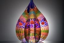Art Glass Love / Glass, all types of beautiful artisan glass / by Rebecca Etn