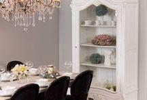Jadalnia/ Dining Room / Jadalnia, Dining Room, Stół, Krzesła,