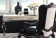 Elegancki Gabinet/ Elegant Home Office / elegancki stylowy gabinet, biuro domowe, home office, workspace
