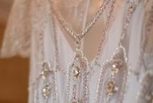 Dreamy Creamy White With Pearls, Diamonds, Lace, or Chiffon / by Kathryn T.