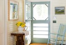 Just Like Home... / Front Porches, Screen Doors and Warm Welcomes-- That's Southern Living.