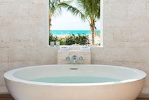 Soak. / If you share our enthusiasm for a good bathtub or shower, then boy, do we have the Pinterest board for you...