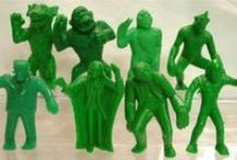 Vintage Monster Toys / Monsters have been the subject of some of the coolest toys ever + current eBay auctions for vintage monster toys and collectibles