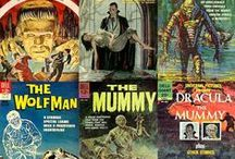 Collecting Classic Monster Magazines & Comics / vintage monster magazines and comics of the 1950s through the 1970s, including Warren's Famous Monsters of Filmland, Marvel and DC comics,