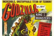 Collecting Godzilla / Godzilla is the King of All Monsters.  For 60 years he's been stomping cities and a merchandising machine with more collectibles than any other classic monster -- this board features Godzilla memorabilia, toys, vinyl figures and more