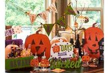 Halloween / Unique new decor for the haunting season--pennants, coasters, cats & bats, tombstones, oh, my!