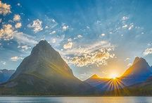 Majestic Mountain Scenery / A collection of stunning mountain shots / by Palace Prints