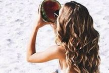 Summer Lovin' Give Me Those Beach Curls! / Beach Curls are the most popular hair style this summer and you too can have the covet hairstyle in just a few steps.