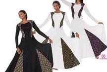 Praise Dresses / Liturgical Praise Worship Dance Garments Uniforms