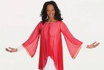 Praise Tunics / Liturgical Praise Worship Dance Garments Uniforms