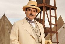 Hercule Poirot ... David Suchet... Agatha Christie / Perfect character,  perfect actor ♡