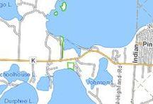 Grindstone Lake Hayward WI / 3176 acres  60' max depth www.woodlanddevrealty.com