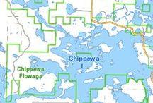 "Chippewa Flowage - ""The Big Chip"" / 87 acres  16' max depth www.woodlanddevrealty.com"