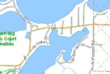 Whitefish Lk Hayward WI / 800 acres - 105' max depth