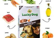Lucky Dog® Treats / Nourish your dog for a happy & healthy life. Lucky Dog® treats are Made in the USA with 100% all-natural ingredients.