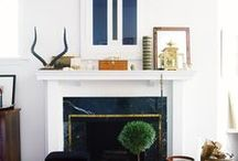 Fireplace Mantels + Artwork / pins about: living rooms | fireplace mantels | stylish fireplace décor | decorating ideas | modern fine art | abstract paintings | abstract canvas artwork | wall art | home décor | contemporary fine art | contemporary wall art | wall décor | large paintings | sculpture | wall sculpture | modern home style | stylish interior design & modern décor ideas | luxury decor + homes. To learn more ideas for integrating artwork into your home, visit: https://www.maggieminordesigns.com/