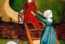 15th century women's headwear