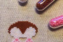 Brick Stitch and Peyote charms / Brick Stitch cuteness overload. Brick Stitch pendants. Brick Stitch charms. Brick Stitch earrings. Brick Stitch keychains. #brickstitch Peyote cuteness overload. Peyote pendants. Peyote charms. Peyote earrings. Brick stitch animals. Miyuki charms. Peyote keychains. #peyote #peyotestitch