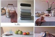 "LINGE / Linge en lin lavé ""stone washed"" sur www.chiara-stella-home.com"