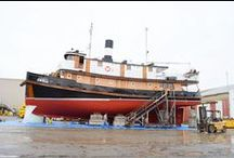 Commercial Vessels / Commerical boats, Commerical vessels, repair, restoration, planking, Wood Boats, Wood Vessels, Amazing boats, Amazing Vessels, Beautiful Ships, Beautiful boats. Pacific Northwest, PNW