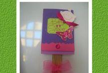 Tarjetas para Baby Shower / Tarjetas e invitaciones para Baby