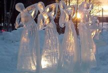 Angels In The Snow / ...surprising us at every turn! / by Amber