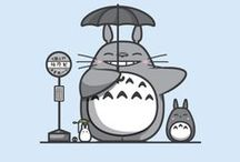 Totoro / by Nathalie Veroudart-Clamart