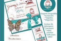 Diseños Anamar Invitaciones / Diseños disponibles impresos o en kits personalizados para que tu imprimas