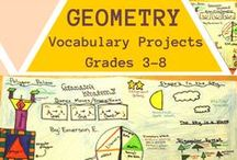 GEOMETRY / Geometry activities and resources for teaching geometry and modeling geometric concepts in the classroom. (Includes related concepts such as Origami, 2-D and 3-D construction.)  Focus on the Common Core Standards. | common core math | secondary math | middle school math | geometry art | geometry elementary activities | math art projects | 5th grade math | 6th grade math | 7th grade math | 8th grade math |