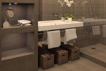 Fürdőszoba / Számomra tetszetős, egyszerű, letisztult terek