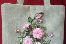 R. Çanta,mutfak önlüğü,kırlent.lavanta torbası / Çanta, mutfak önlüğü velavanta torbası