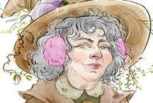 Laura Trinder Illustration Gallery / Drawings, doodles, digital paintings