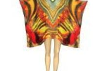 Embellished Digital Print Kaftans / Bejewelled and colourful digital print designs from www.kaftanconnection.com.au. Crystal embellishments and detailing.