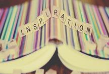 INSPIRACION / las personas y cosas de mi vida que me inspiran, a veces es fácil tener ideas, o ser creativa rodeada de tanto talento.