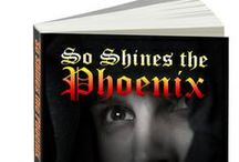 So Shines the Phoenix / pictures from and for my novel, available on AMAZON